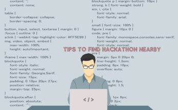 Tips To Find Hackathon Nearby