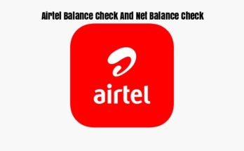 Airtel Balance Check And Net Balance Check