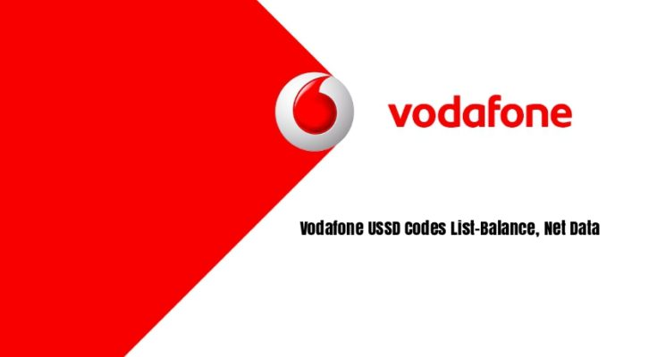 All Vodafone USSD Codes