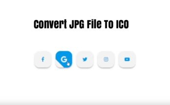 Convert JPG File To ICO