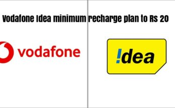 Vodafone Idea brings down minimum recharge plan to Rs 20
