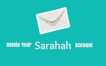 Delete Your Sarahah Account