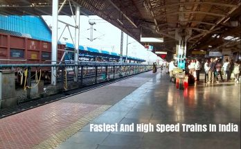 Fastest And High Speed Trains In India