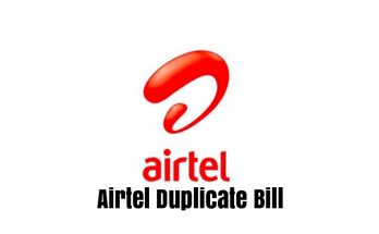 Airtel Duplicate Bill