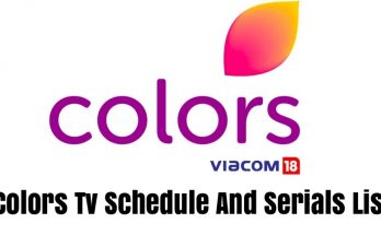 Colors Tv Schedule And Serials List