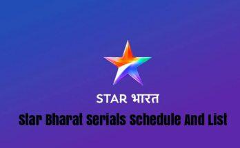 Star Bharat Serials Schedule And List