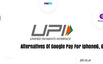 Alternatives Of Google Pay For iPhone 6 and iPhone6s