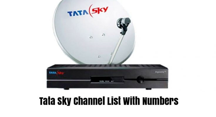 Tata Sky Channel List With Numbers