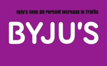 Byjus Sees 60 Percent Increase In Traffic