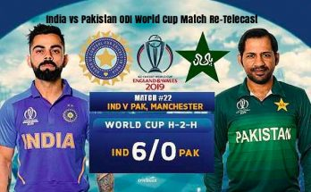 India vs Pakistan ODI World Cup Match Re-Telecast