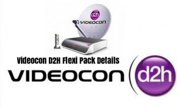 Videocon D2H Flexi Pack Details